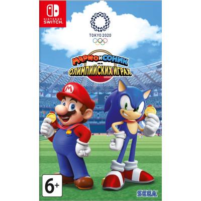 Игра для Nintendo Switch Марио и Соник на Олимпийских играх 2020 в Токио (русская версия)
