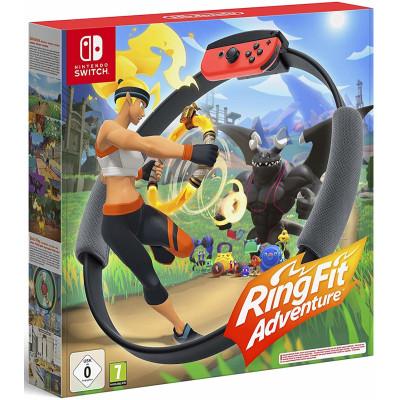 Игра для Nintendo Switch Ring Fit Adventure (+Ring-Con/Ремень на ногу) (английская версия)