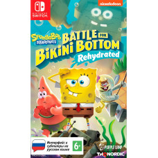 SpongeBob SquarePants: Battle For Bikini Bottom - Rehydrated [NS, русские субтитры]