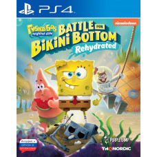 SpongeBob SquarePants: Battle For Bikini Bottom - Rehydrated [PS4, русские субтитры]