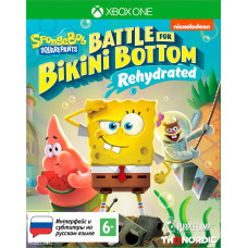 SpongeBob SquarePants: Battle For Bikini Bottom - Rehydrated [Xbox One, русские субтитры]