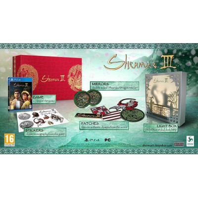 Shenmue III. Collector's Edition [PS4, английская версия]
