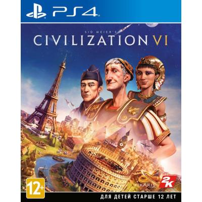 Игра для PlayStation 4 Sid Meier's Civilization VI (русские субтитры)