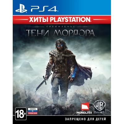 Игра для PlayStation 4 Средиземье: Тени Мордора (Хиты PlayStation) (русские субтитры)