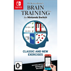 Dr Kawashima's Brain Training for Nintendo Switch [NS, английская версия]