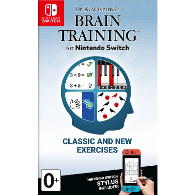 Игра для Nintendo Switch Dr Kawashima's Brain Training for Switch