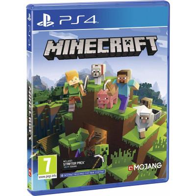 Игра для PlayStation 4 Minecraft Bedrock (русская версия)