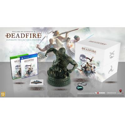 Игра для PlayStation 4 Pillars of Eternity II: Deadfire. Ultimate Collector's Edition (русские субтитры)