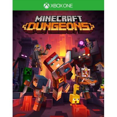 Minecraft Dungeons [Xbox One, английская версия]