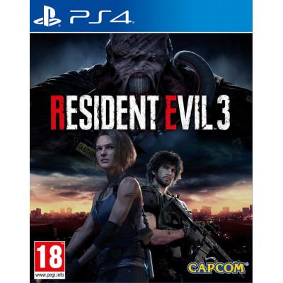 Игра для PlayStation 4 Resident Evil 3 Remake (русские субтитры)