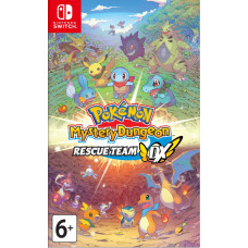 Pokémon Mystery Dungeon: Rescue Team DX [NS, английская версия]