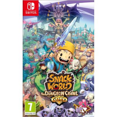 Игра для Nintendo Switch Snack World: The Dungeon Crawl - Gold