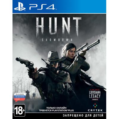 Игра для PlayStation 4 Hunt: Showdown (русские субтитры)
