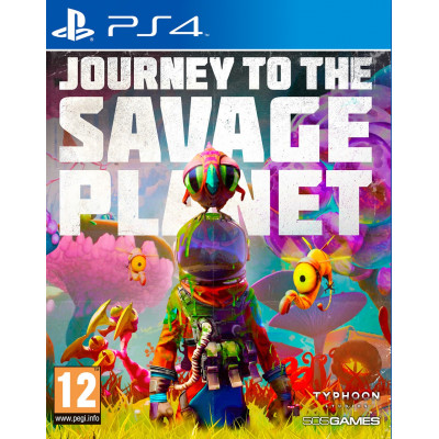 Игра для PlayStation 4 Journey to the Savage Planet