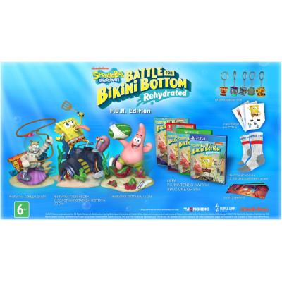 Игра для Nintendo Switch SpongeBob SquarePants: Battle For Bikini Bottom - Rehydrated. F.U.N Edition