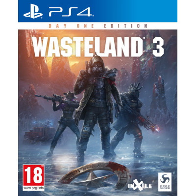 Игра для PlayStation 4 Wasteland 3. Издание первого дня (русские субтитры)