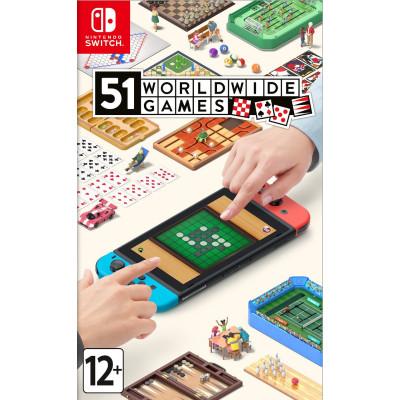 Игра для Nintendo Switch 51 Worldwide Games (английская версия)