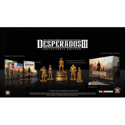 Игра для PlayStation 4 Desperados III. Collector's Edition (русская версия)