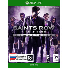 Saints Row: The Third. Remastered [Xbox One, русские субтитры]