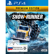SnowRunner. Premium Edition [PS4, русская версия]