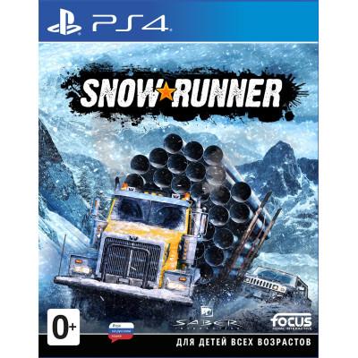 Игра для PlayStation 4 SnowRunner (русская версия)