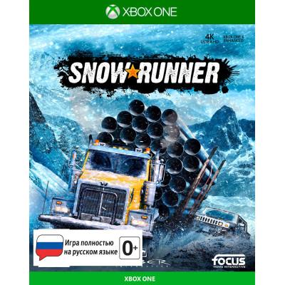 Игра для Xbox One SnowRunner (русская версия)