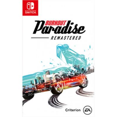 Игра для Nintendo Switch Burnout Paradise. Remastered