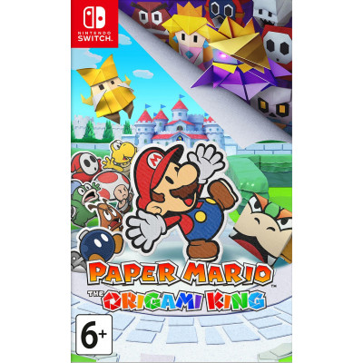 Игра для Nintendo Switch Paper Mario: The Origami King (английская версия)