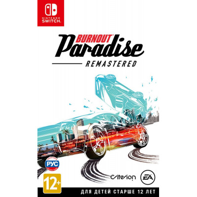 Игра для Nintendo Switch Burnout Paradise. Remastered (русская документация)