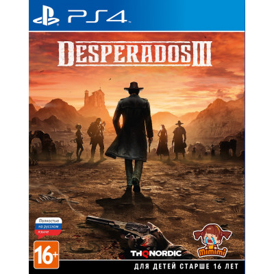 Игра для PlayStation 4 Desperados III (русская версия)