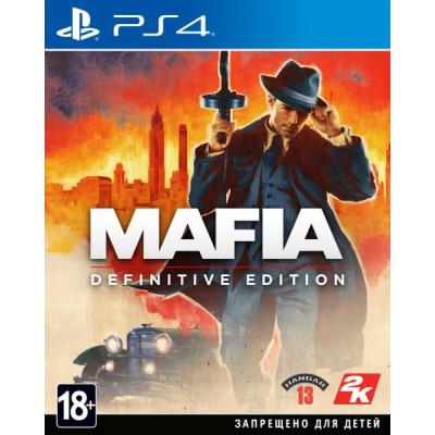 Игра для PlayStation 4 Mafia. Definitive Edition (русская версия)