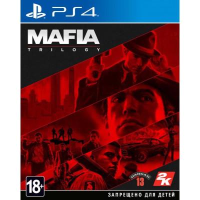 Игра для PlayStation 4 Mafia. Trilogy (русские субтитры)