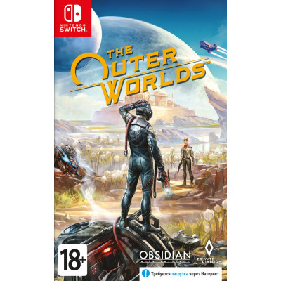 Игра для Nintendo Switch The Outer Worlds (русские субтитры)