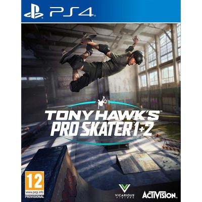 Игра для PlayStation 4 Tony Hawk's Pro Skater 1 + 2 (английская версия)
