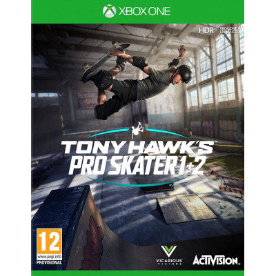 Игра для Xbox One Tony Hawk's Pro Skater 1 + 2 (английская версия)