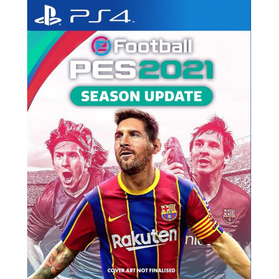 Игра для PlayStation 4 eFootball PES 2021 Season Update (русские субтитры)