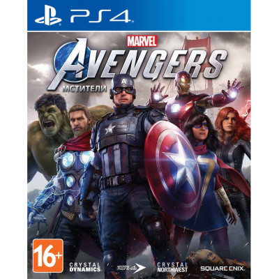 Игра для PlayStation 4 Мстители Marvel (русская версия)