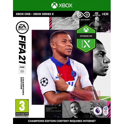 Игра для Xbox One FIFA 21 (русская версия)