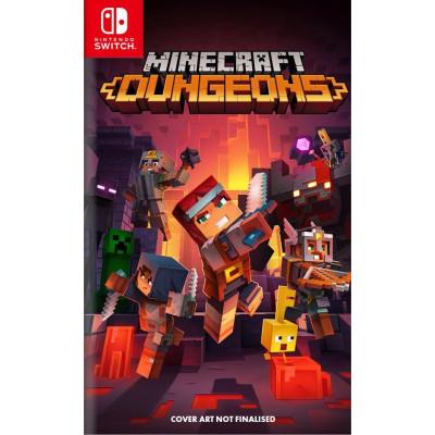 Игра для Nintendo Switch Minecraft Dungeons (русская версия)