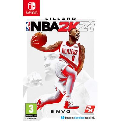 Игра для Nintendo Switch NBA 2K21 (английская версия)