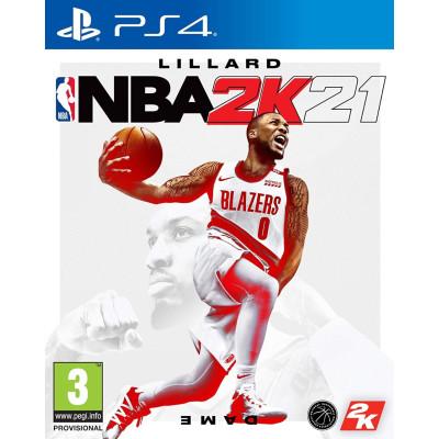 Игра для PlayStation 4 NBA 2K21 (английская версия)