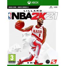 NBA 2K21 [Xbox One, английская версия]