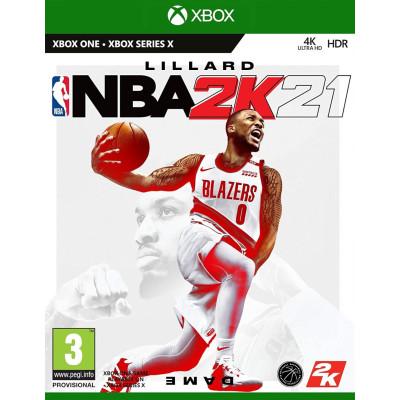 Игра для Xbox One NBA 2K21 (английская версия)