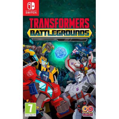 Игра для Nintendo Switch Transformers: Battlegrounds (русские субтитры)