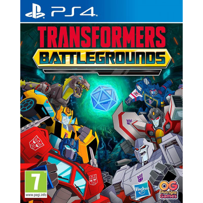 Игра для PlayStation 4 Transformers: Battlegrounds (русские субтитры)