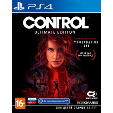 Control. Ultimate Edition [PS4, русские субтитры]