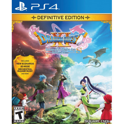 Игра для PlayStation 4 Dragon Quest XI S: Definitive Edition (русская документация)