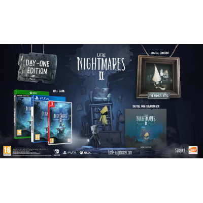 Игра для Nintendo Switch Little Nightmares II. Издание 1-го дня (русские субтитры)