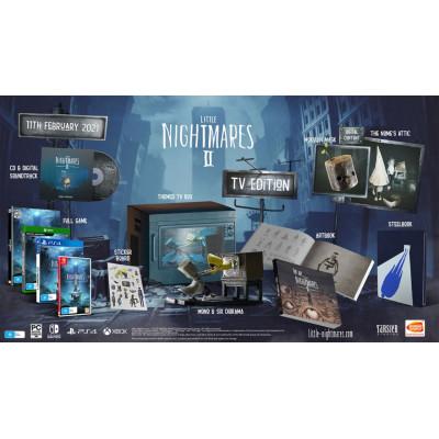 Игра для Nintendo Switch Little Nightmares II. ТВ-издание (русские субтитры)