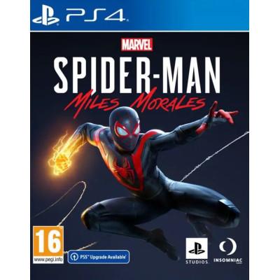 Игра для PlayStation 4 Marvel Человек-Паук: Майлз Моралес (русская версия)